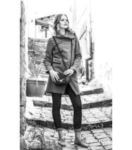 FIODA softshell kabát, mentazöld-szürke