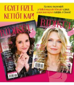 Ridikül Magazin, 2021. február - AKCIÓ! Egyet fizetsz, kettőt kapsz!
