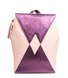 Kite hátizsák, metál lila-púder