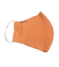 Aprópöttyös narancssárga maszk