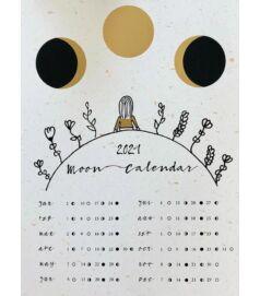 2021-es holdnaptár - Kislány