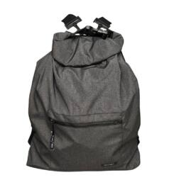 TIMTOM hátizsák, többfunkciós táska, szürke cirmos