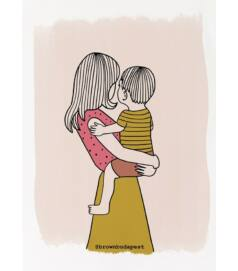 Illusztráció - Anyuka kisfiúval