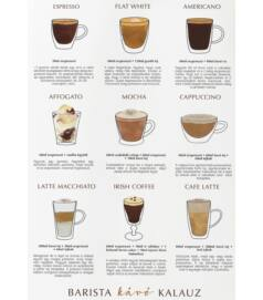Illusztárció - Barista kávé kalauz