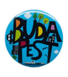 Kitűző - Budapest
