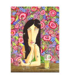 Girl at Noszvaj - Giclée művészi nyomat