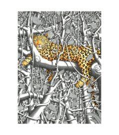 In the Kikuyu forest - Giclée művészi nyomat