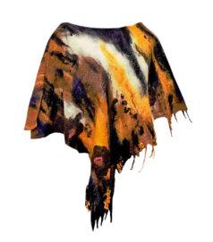 Poncsó merinói gyapjúból - indián