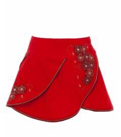 Boglárka szoknya, piros