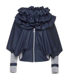 Vízlepergető dzseki pamut belsővel, sötétkék