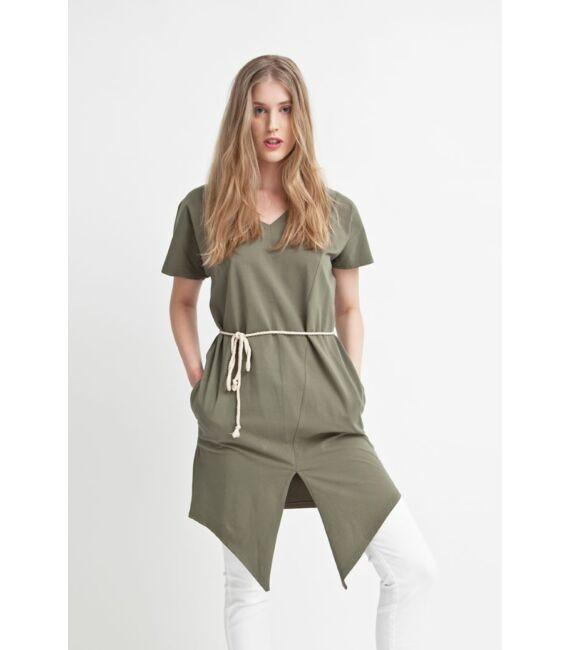 DEA többfunkciós nyári ruha, khaki