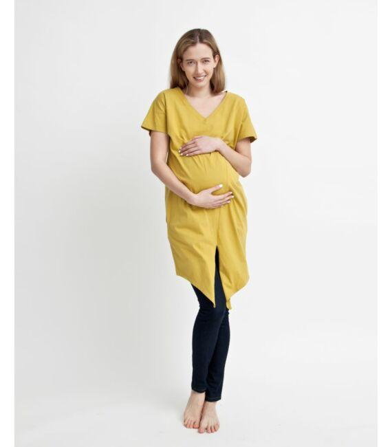 DEA többfunkciós nyári ruha, mustársárga