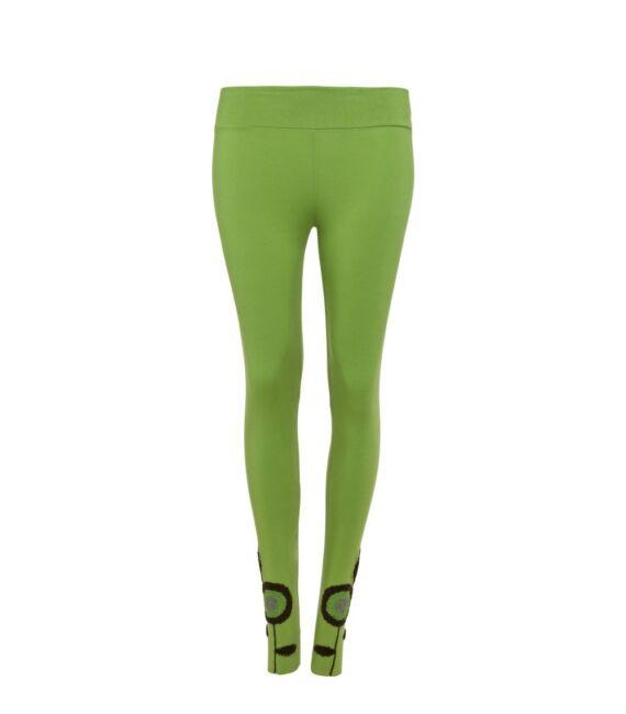 ruha_siptar_designer_divat_leggings_hosszu_himzett_vilagoszold